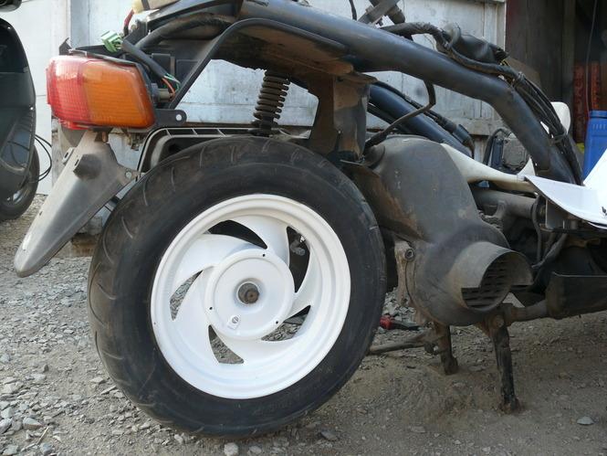 Окраска пластика скутера (АБС-пластик) | Живи и езди! | 499x665